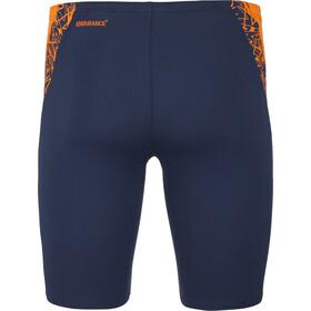 speedo Boom Splice Bañadores Hombre, navy/orange